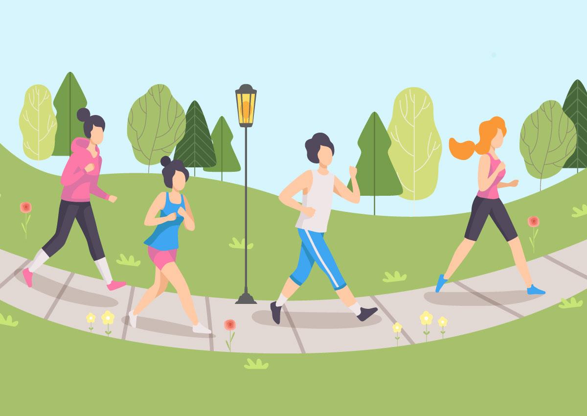 目指せ、毎日10,000歩!チーム対抗ウォーキングイベントをおこないました